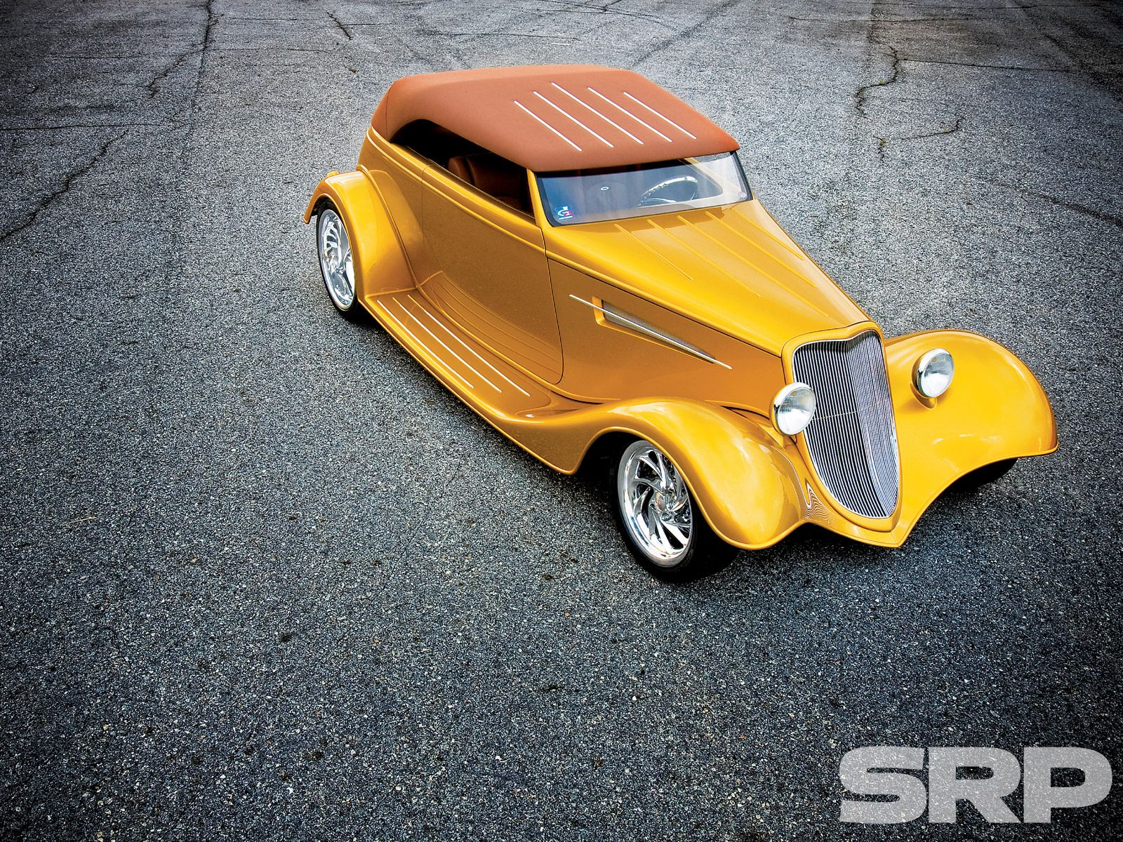 Check out Wild Rose, a 1933 SpeedStar Phaeton with a Heidts Hot Rod