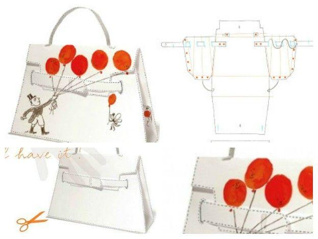 Super Cartamodelli per le borse (Foto) | PourFemme | belli | Pinterest  HN32
