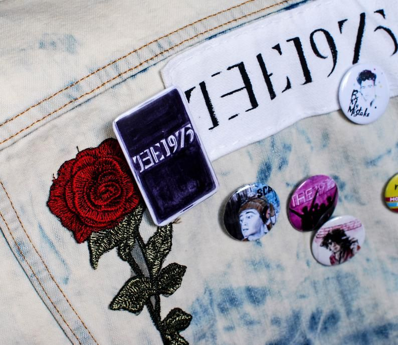 Large Buttons  The 1975  Album Covers Button Set