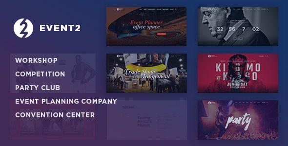 Event2 – Workshop / Expo / Agency WordPress Theme