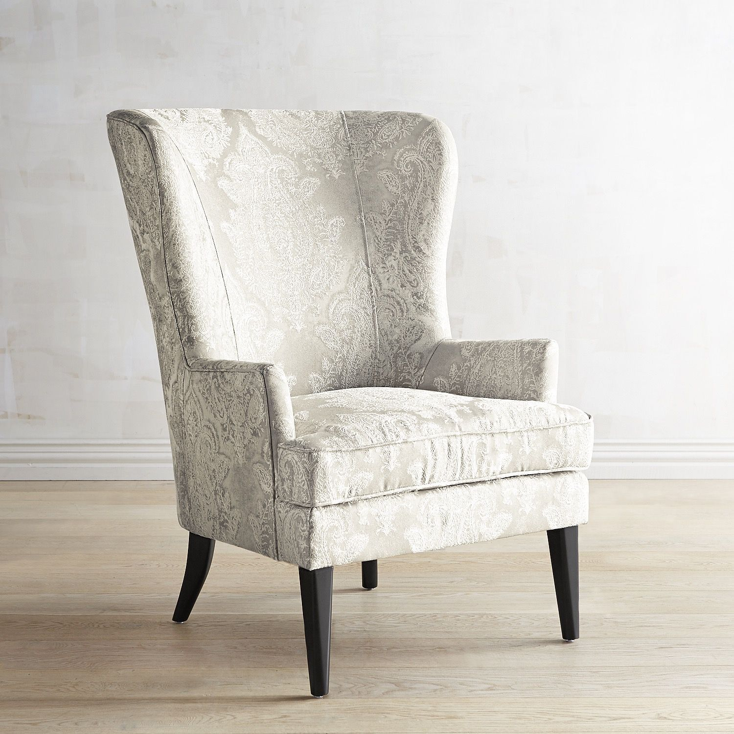 Asher Pearl Classic Chair Silver