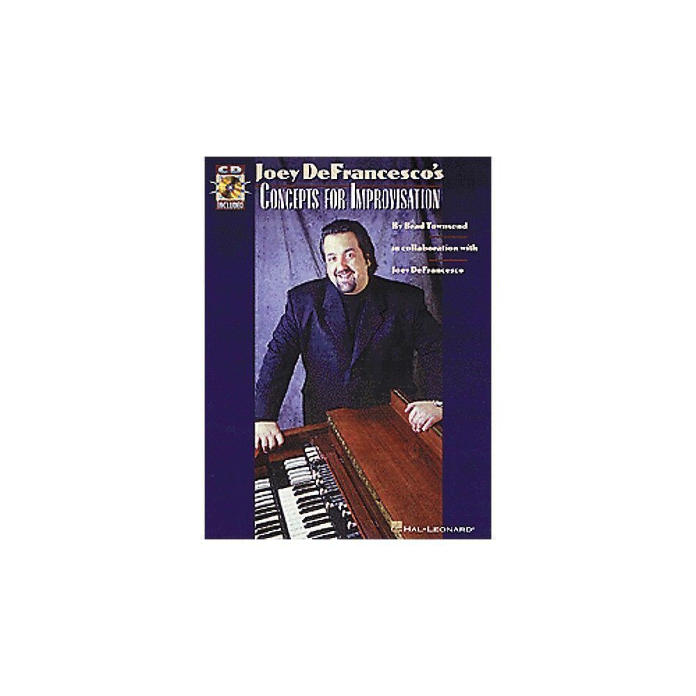 Hal Leonard Joey DeFrancesco's Concepts For Improvisation Book/Online Media