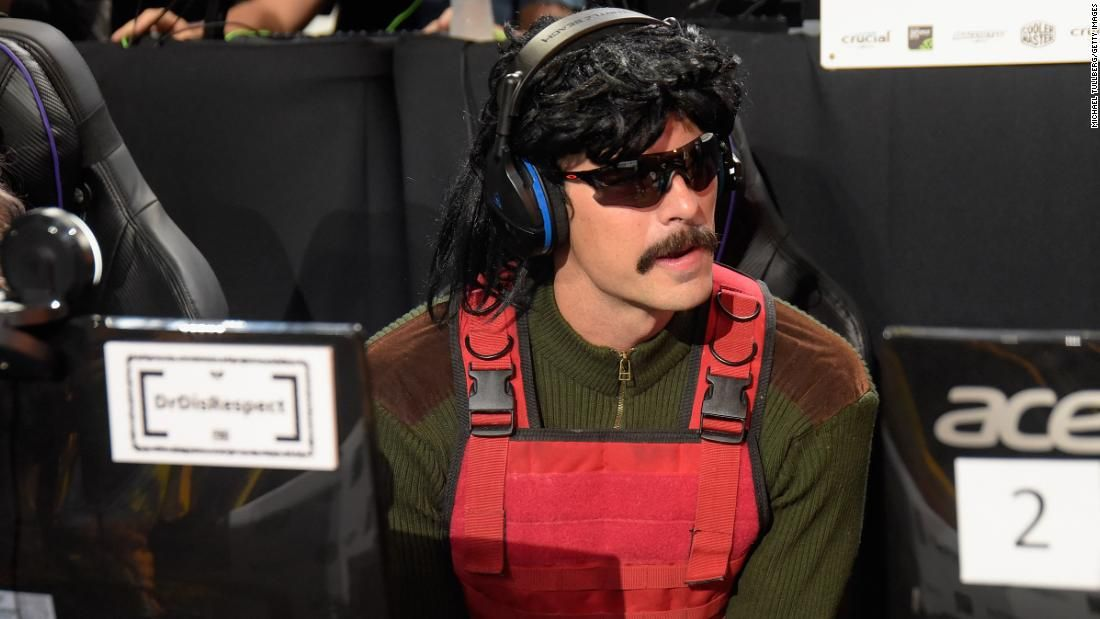 Dr disrespect twitch account suspended e3 pass revoked
