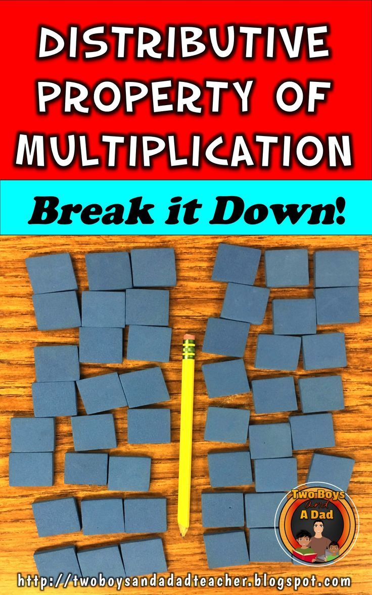How To Break Down the Distributive Property of Multiplication ...