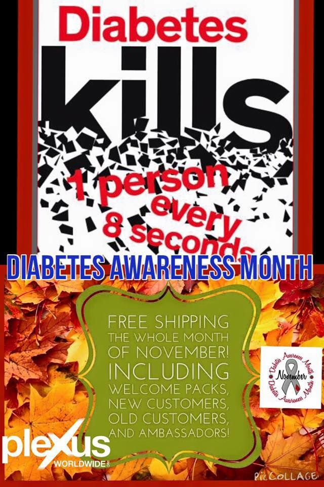 November is Diabetes Awareness Month! In an effort to do