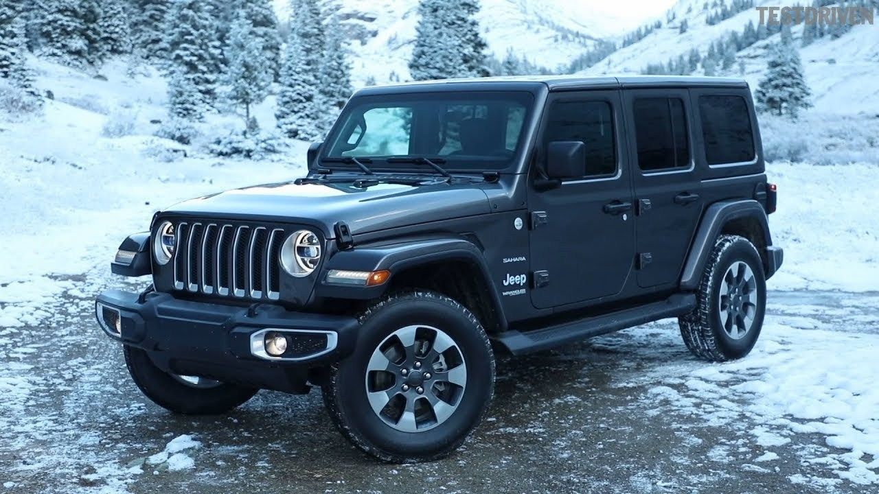 New Jeep Wrangler Unlimited 2019 Exterior Jeep wrangler