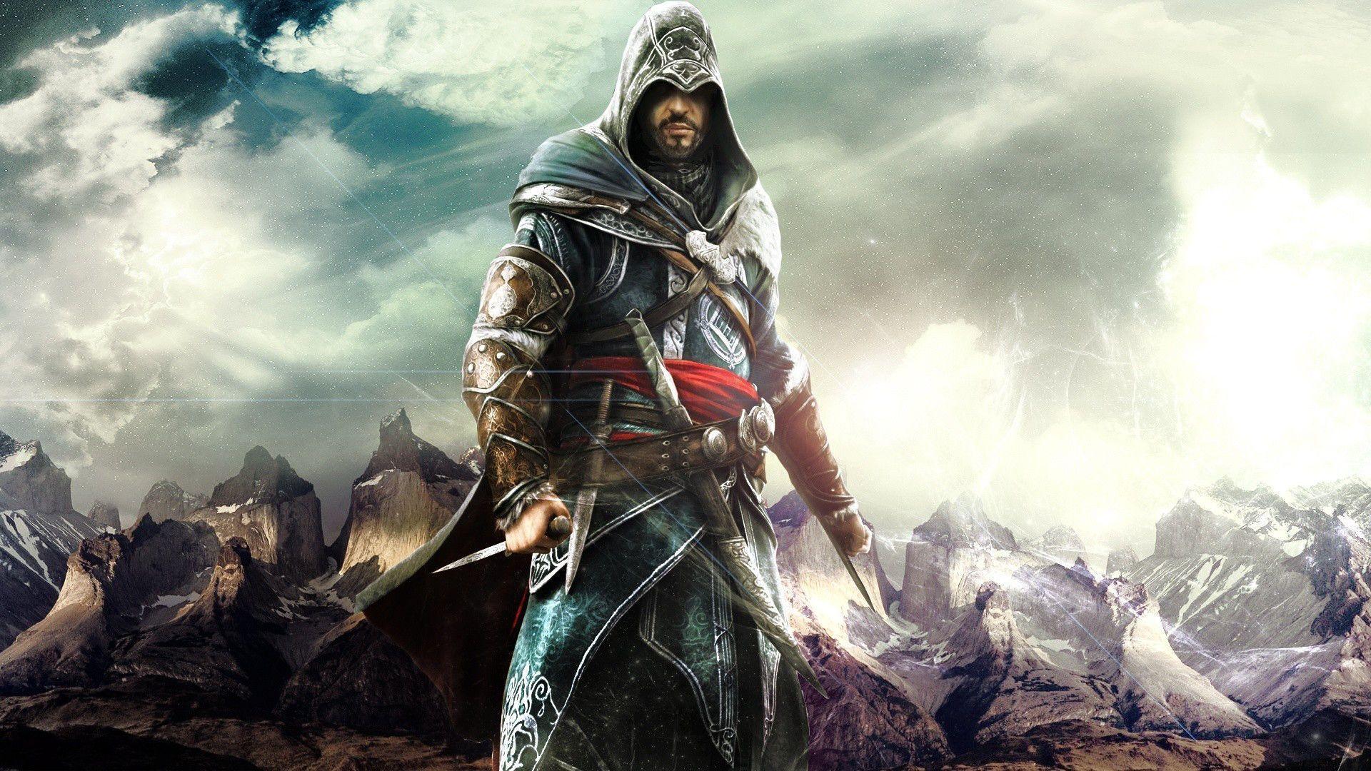 Wallpaper download games - Hd Wallpaper Games Wallpapers For Mac Ezio The Best Assassin