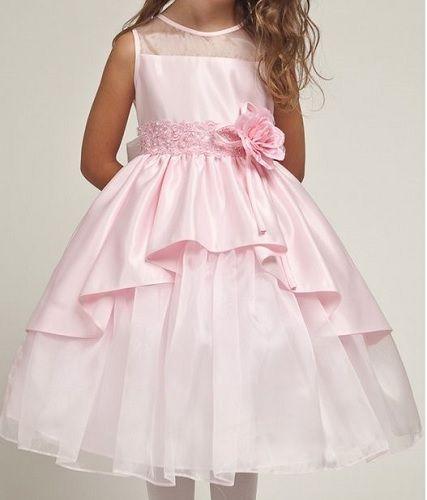 ba27262009 Patrón vestido de fiesta para niñas