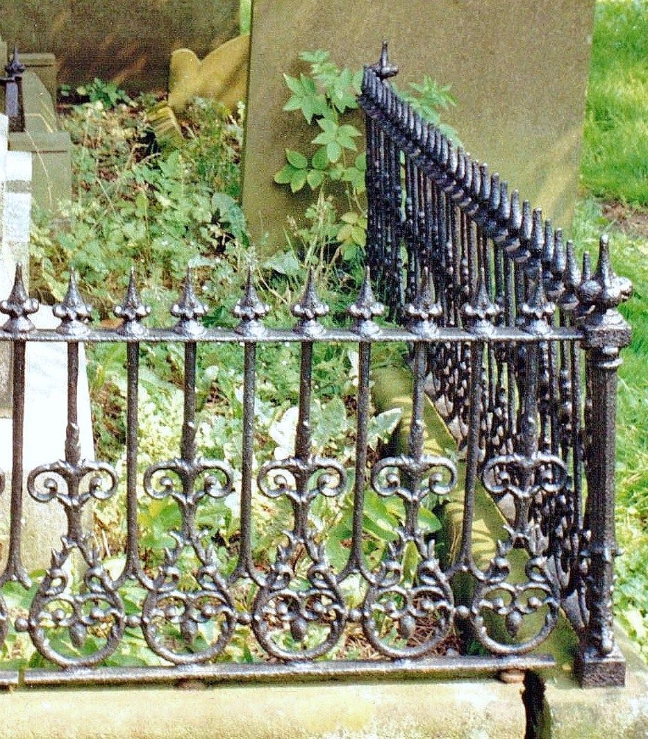Victorian Wrought Iron Cast Iron Fence Iron Fence Garden Gate Design