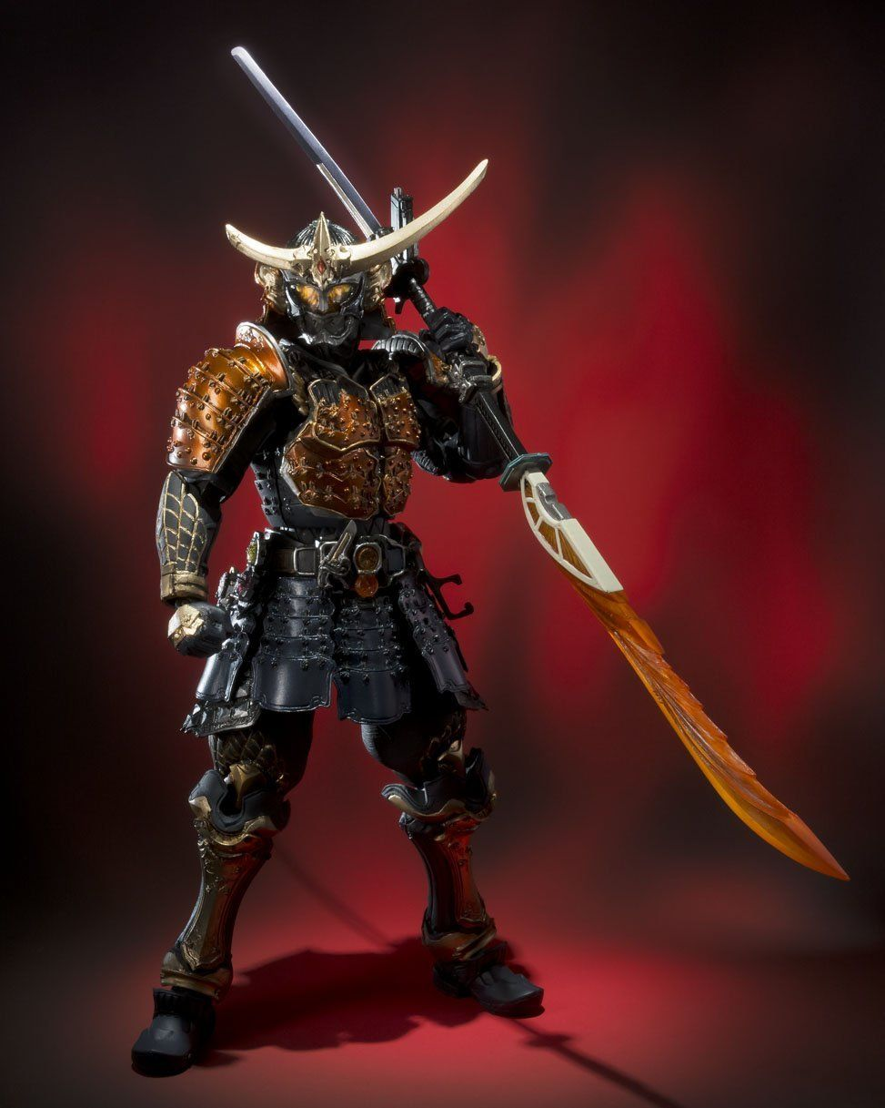 "Amazon.com: Bandai Tamashii Nations SIC Kamen Rider Gaim Orange Arms ""Kamen Rider Gaim"" Action Figure: Toys & Games"