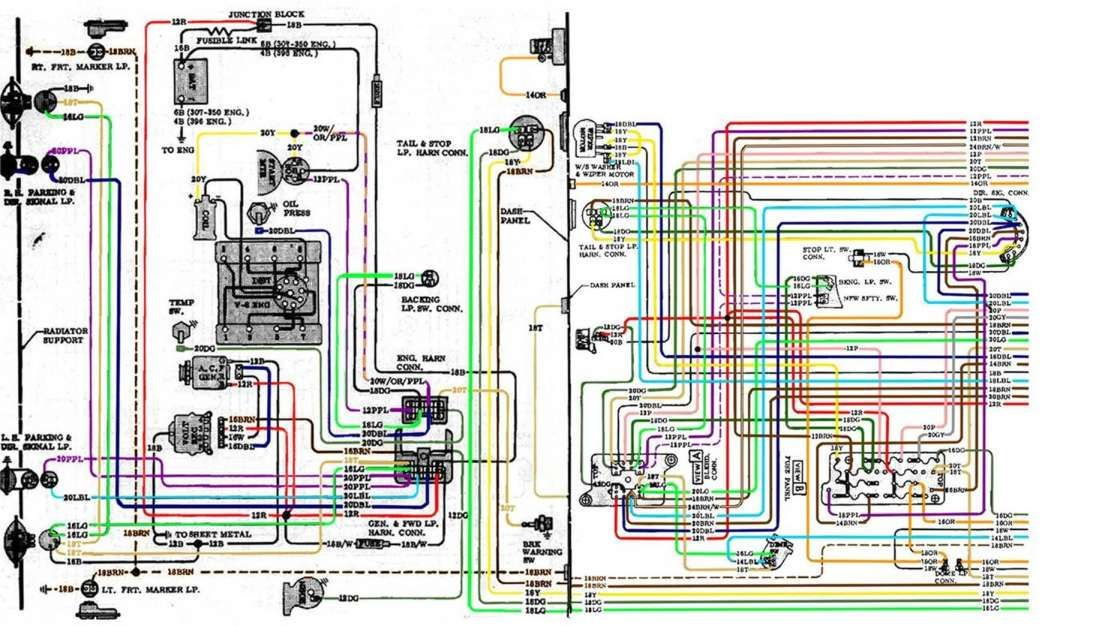 16 1967 Chevy Truck Wiring Diagram Truck Diagram Wiringg Net In 2020 72 Chevy Truck Chevy S10 Chevy Trucks