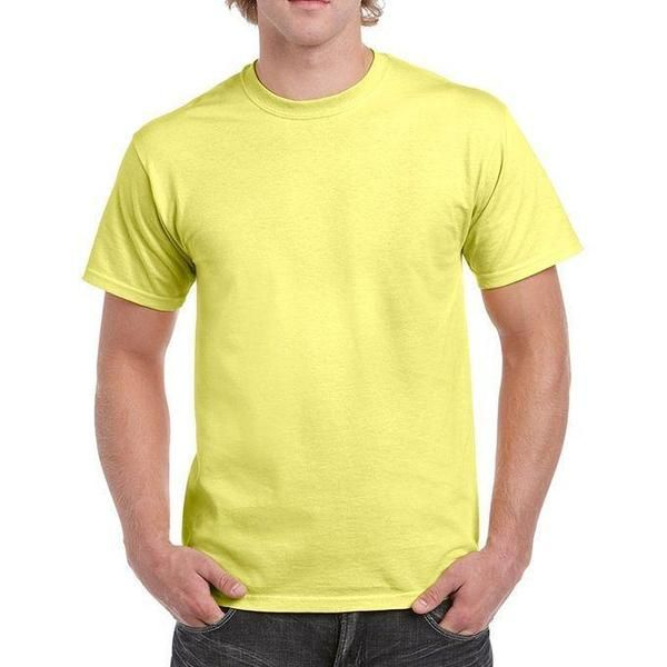 ec754254 Buy the brand new Light Yellow Plain Round Neck T-Shirt For Men at best  prices online in Pakistan at Tajori pk The Best Deal at in Lahore cash on  delivery