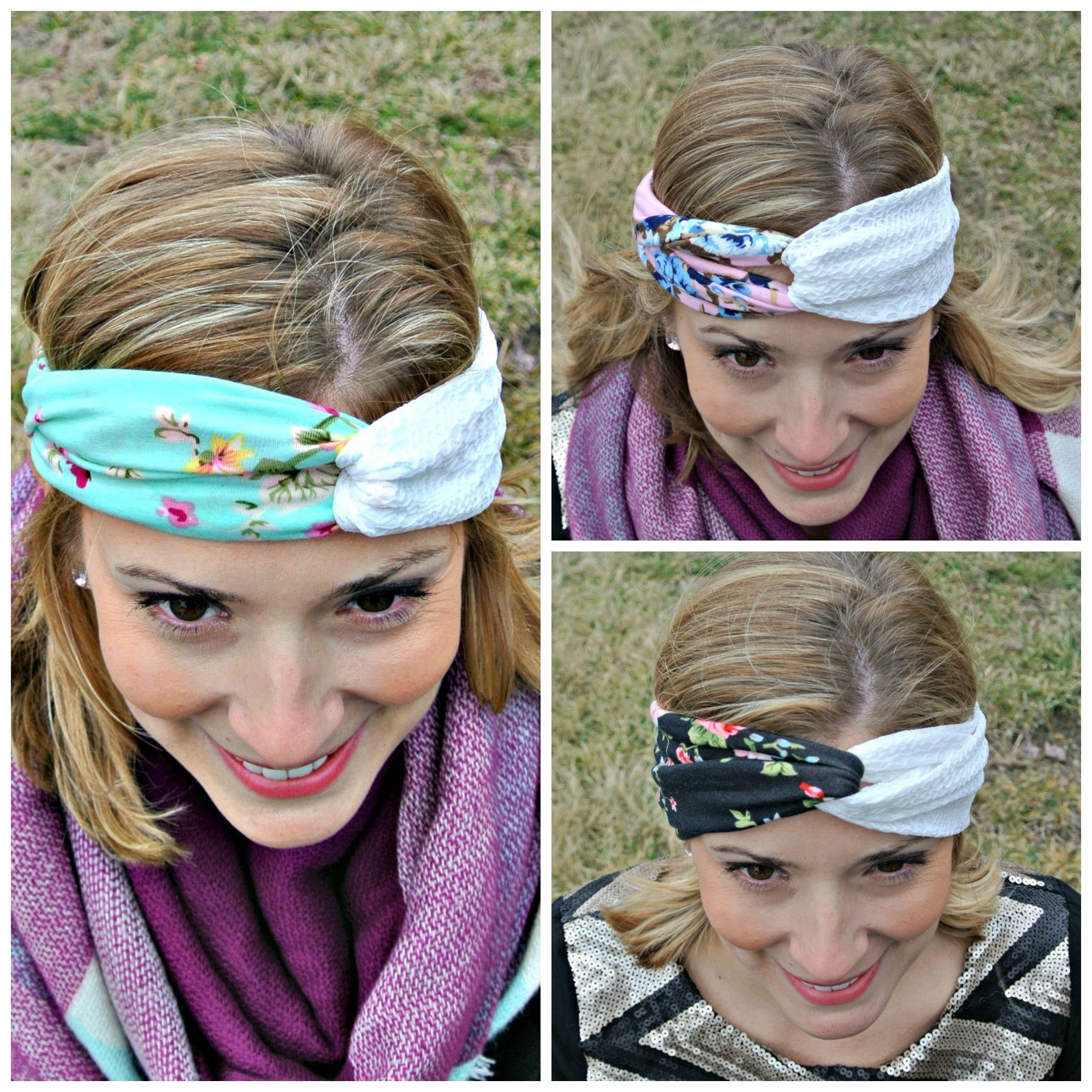 Floral twisted headbands floral twisted headband and products