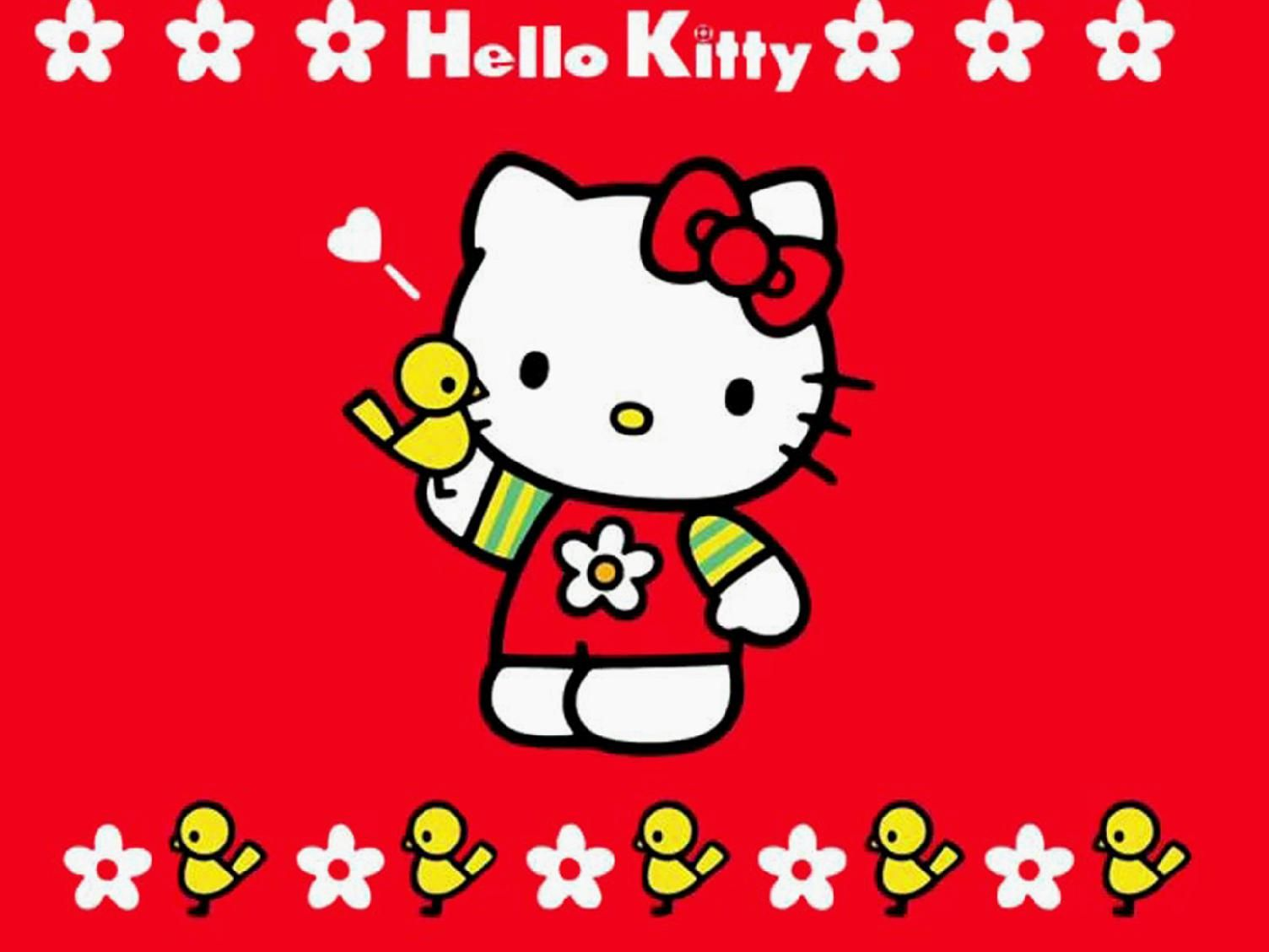 Image For Hello Kitty Wallpaper Hd Merah Lucu Yang Dipakai Hello