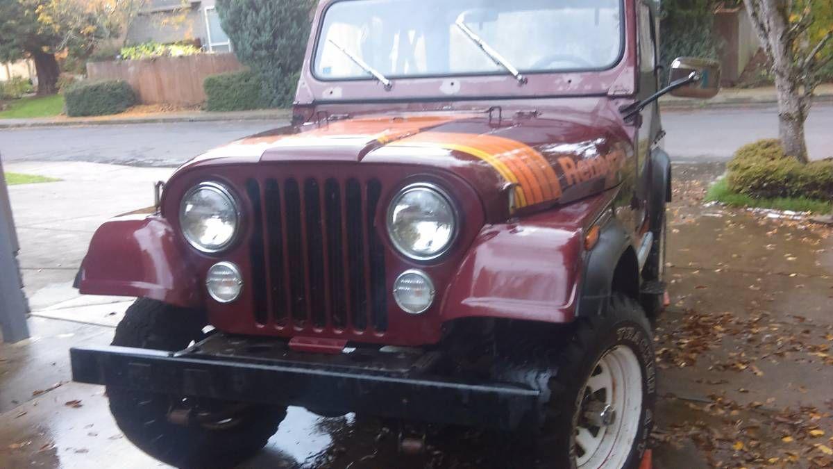 1979 jeep cj5 barn find 29 000 miles