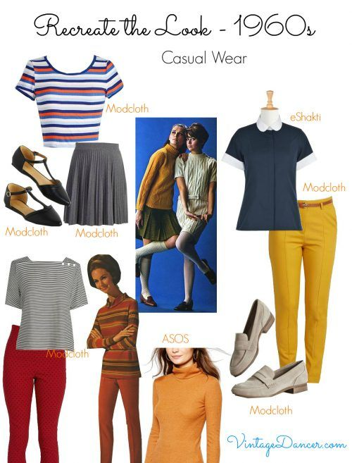 60s Mod Clothing Outfit Ideas 1960s Outfits 1960s Fashion Vintage Inspired Outfits