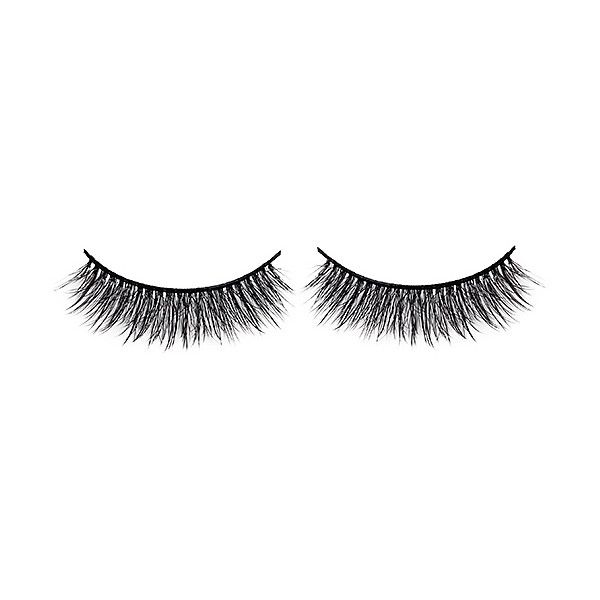 Battington Lashes Harlow 3D Silk Lashes found on Polyvore featuring beauty products, makeup, eye makeup, false eyelashes and beauty