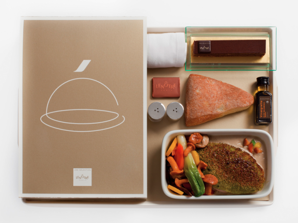 Air France Propose Desormais Des Menus Gastronomiques A Bord This Airplane Food Looks Good