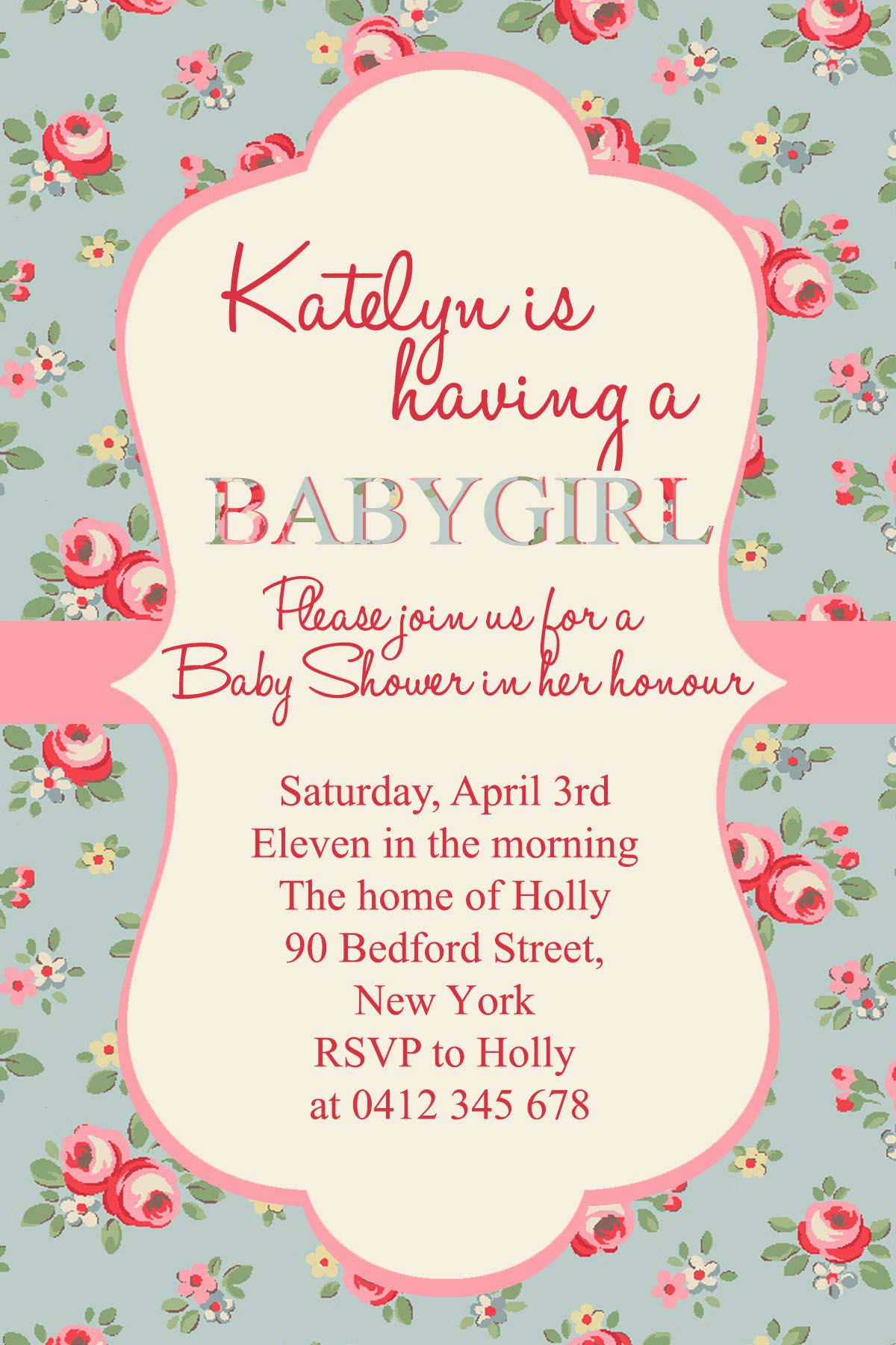 Girl Baby Shower Fonts Used Halo Hand Letter Times New Roman  3e13cd0625b8e95e2f8dd800585d1975 154318724706241440