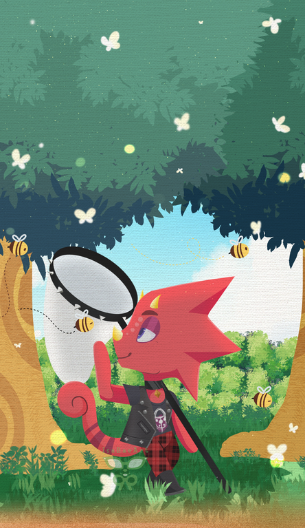Need A New Phone Wallpaper Flick Has You Covered Fanart Animalcrossing In 2020 Animal Crossing Fan Art Animal Crossing Comic Animal