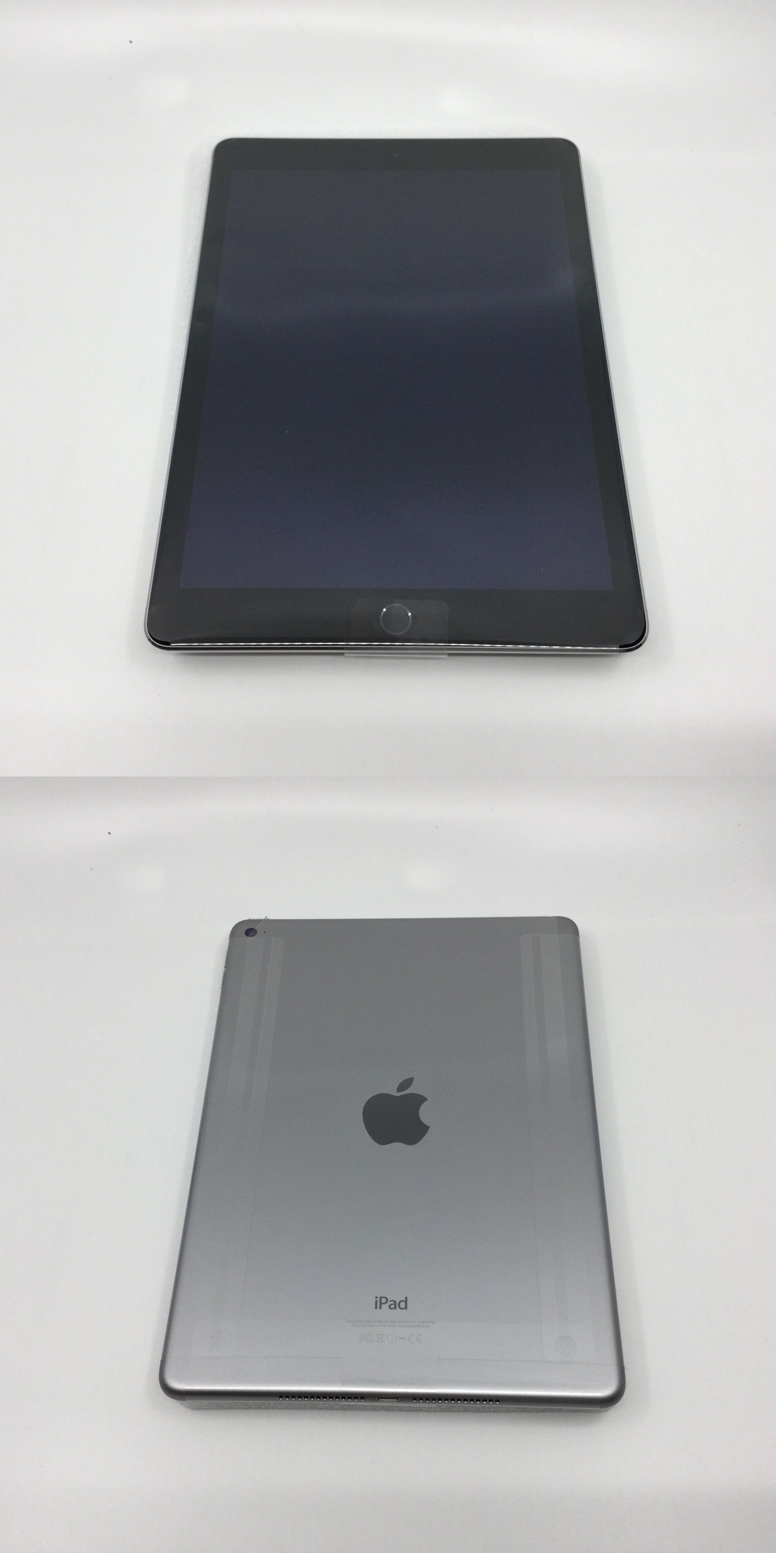 Apple iPad Box And Packaging Wi-Fi Space Gray 6th Generation