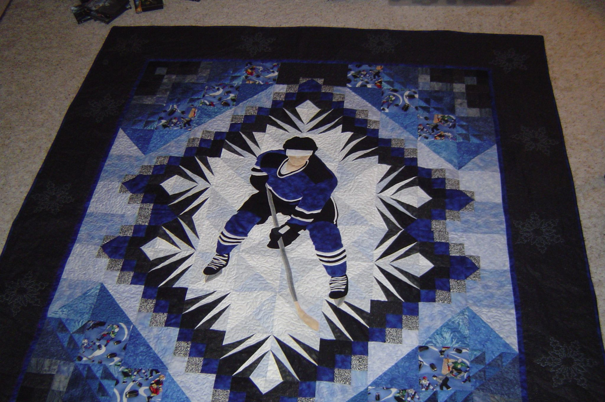 Hockey Fabric For Quilting Hockey Quilt S Hockey