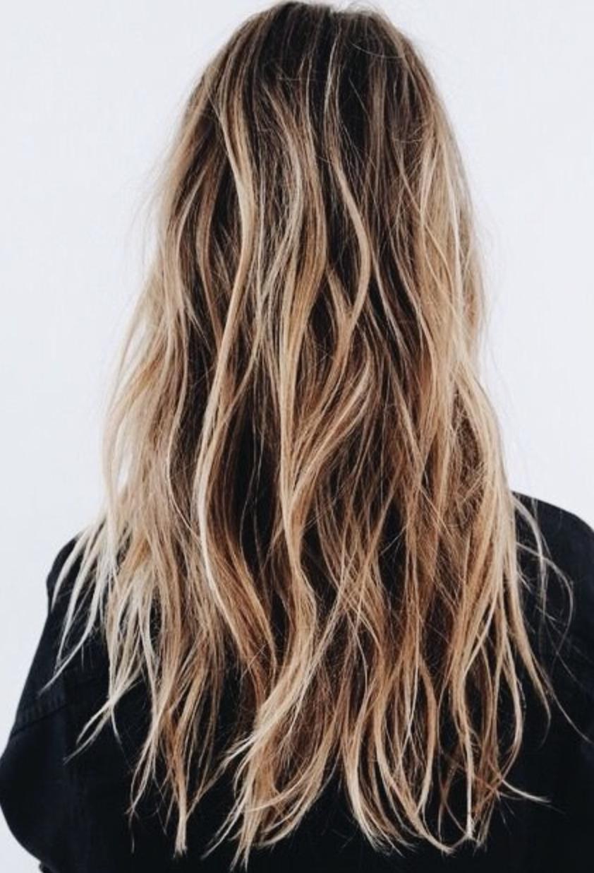 Blonde And Brown Balayage Hair Balayage Hair Curly