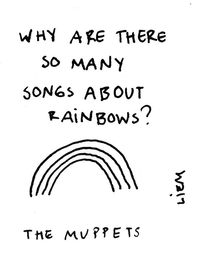 Lyric rainbow connection lyrics : Sketchbook: 365-Song 55. The rainbow connection | music ...
