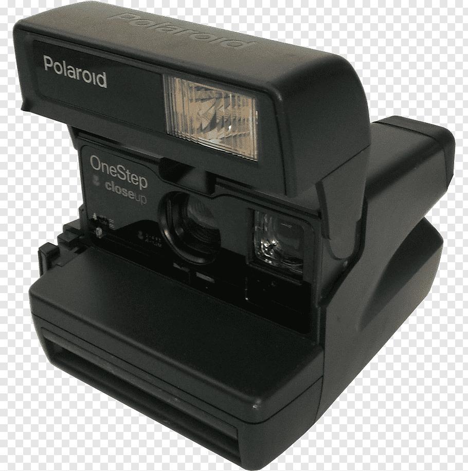Vintage Camera Black And Gray Polaroid Camera Png Vintage Camera Vintage Film Camera Camera Art
