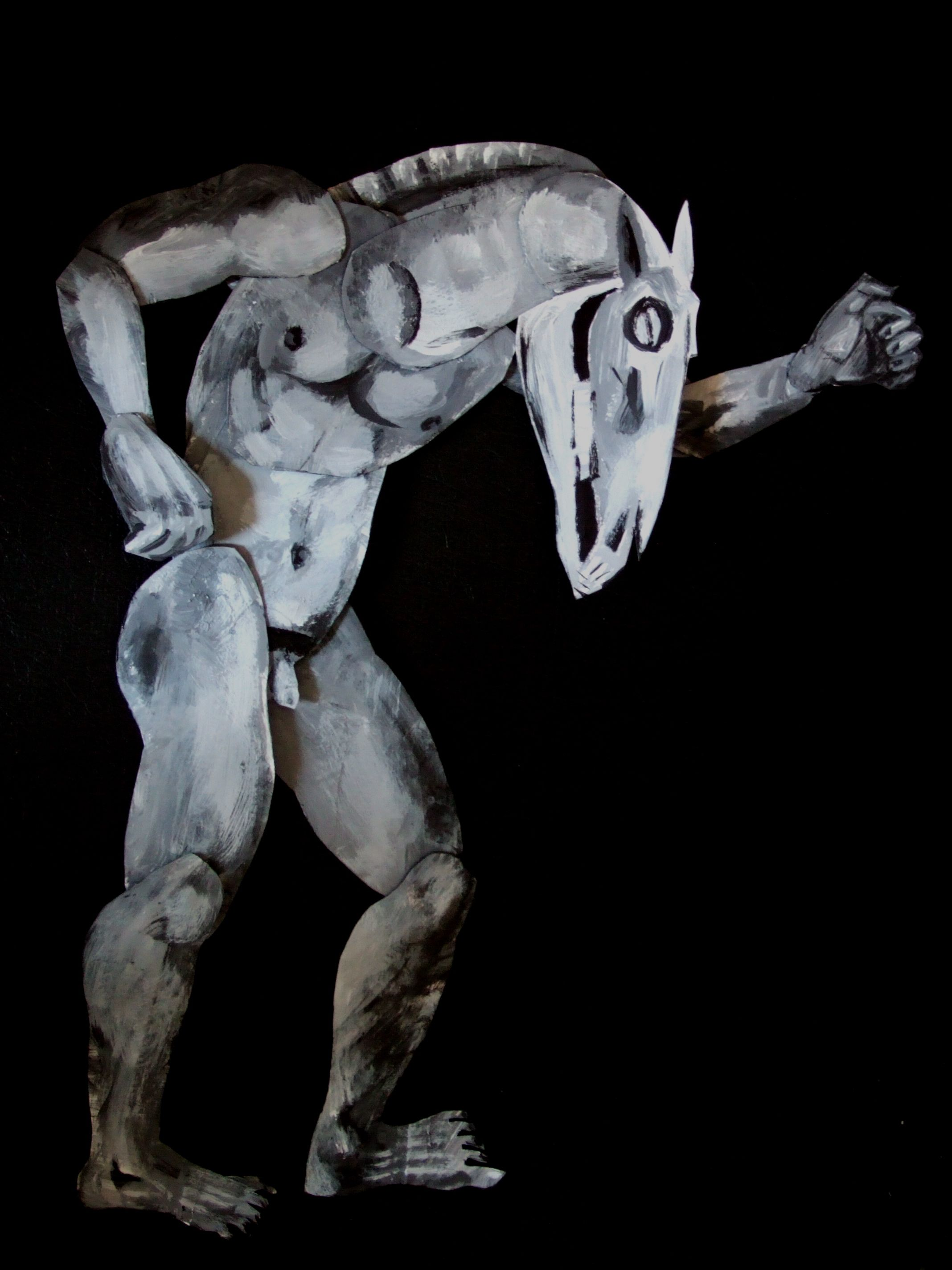 Maquette Of A Horse Man Hybrid By Clive Hicks Jenkins For Equus