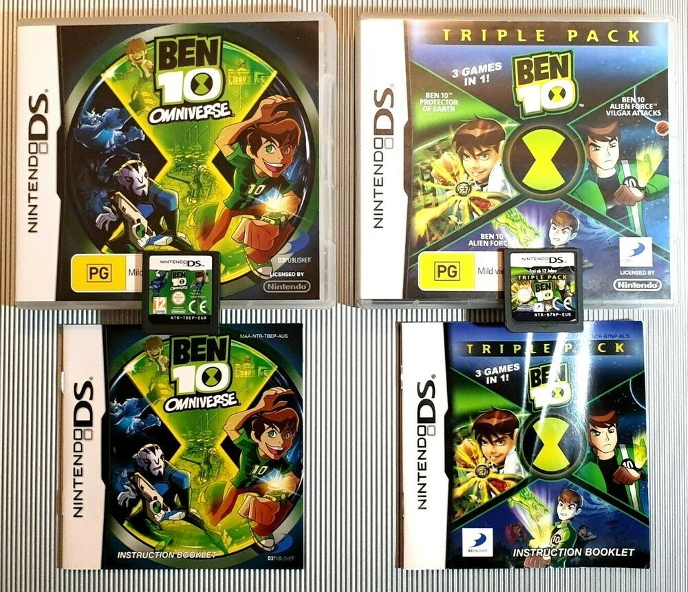 Ben 10 Omniverse Ben 10 Triple Pack 3 Games In 1 With Images
