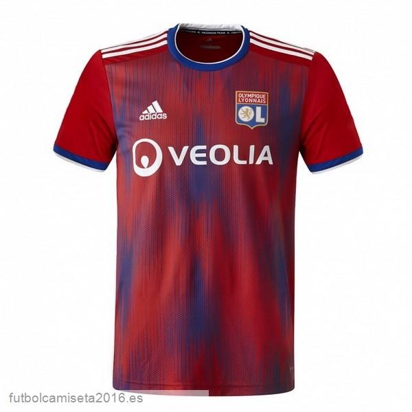 Réplicas Excelente 3ª Camiseta Lyon 2019-2020 Rojo   Maglie da ...