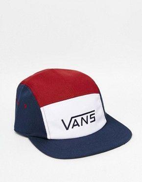 casquette vans rouge