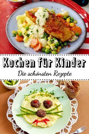 Kochen für Kinder - die schönsten Rezept-Ideen| LECKER #healthideas