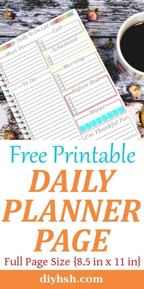 Daily Calendar - Free printable Daily calendar, Free printable and - daily calendar printable