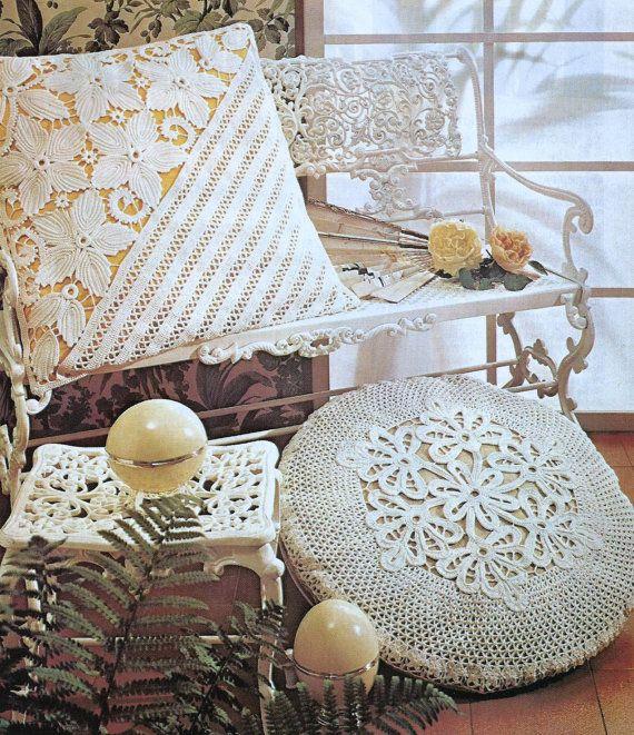 Instant Digital PDF Download Old Vintage Crochet Crocheted ...