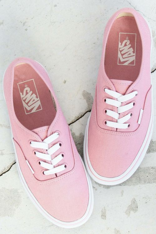 57a00cd8d499 Vans  Authentic Pastel Pack Is a Simple But Pretty Look at Sneakers ...