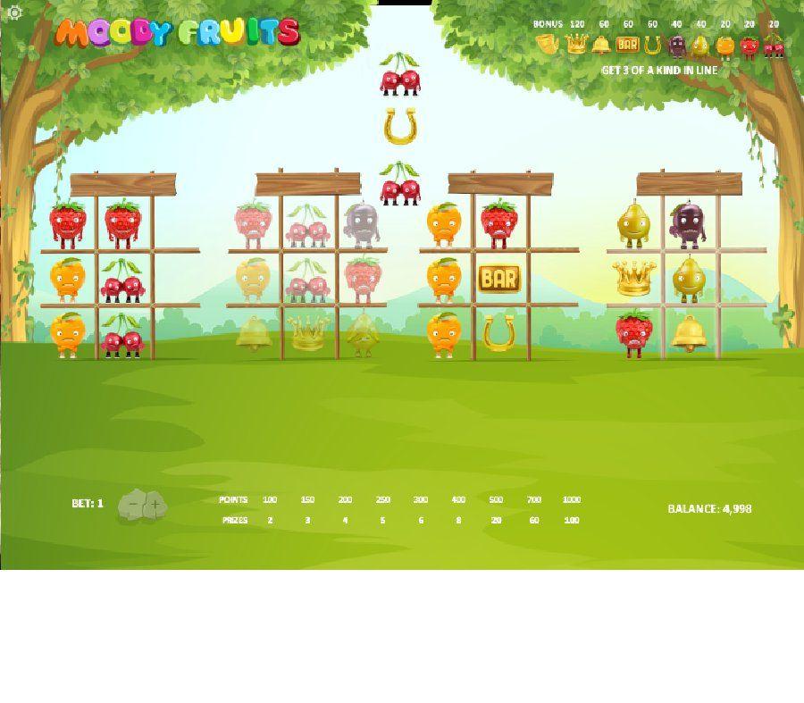 Hracie výherné automaty Moody Fruits - Ovocné hracie výherné automaty Moody Fruits od firmy Relax Gaming, je ďalšou z noviniek, na ktorú sa môžu tešiť všetci fanúšikovia kasínových hier. - http://www.slovenske-casino.com/online-kasino-hry/hracie-vyherne-automaty-moody-fruits  #HracieAutomaty #VyherneAutomaty #Jackpot #Vyhra #MoodyFruits