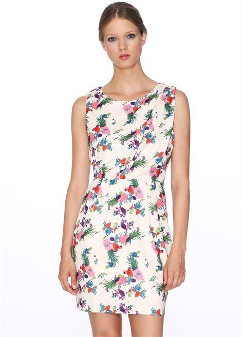 28c1230121ee DRESS ANAIS PINEAPPLE PRINT Vestido Ajustado