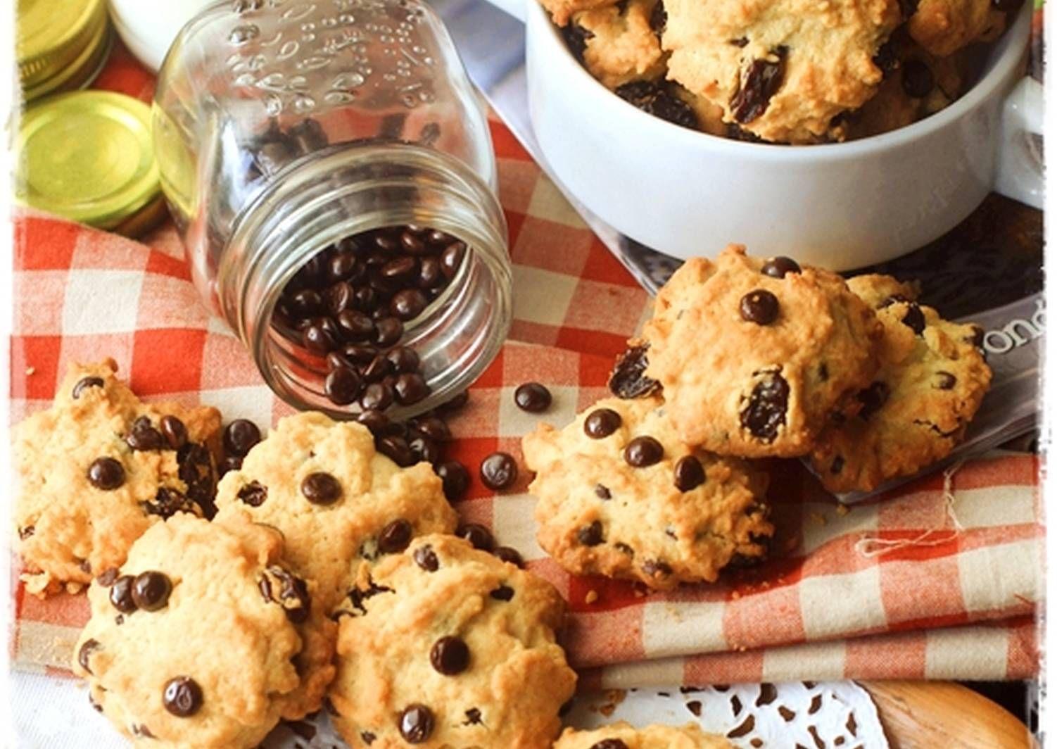 Resep Vanila Chocochips Cookies Simpel Renyahh Oleh Tintin Rayner Resep Resep Biskuit Kue Kering Mentega Makanan