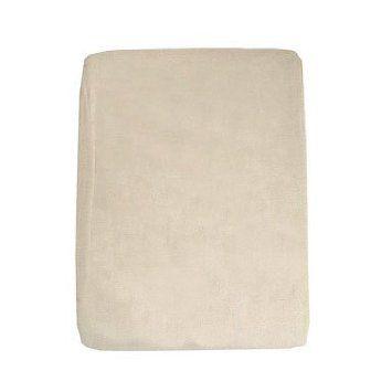 canvas drop cloth makes a great table cloth or bedspread