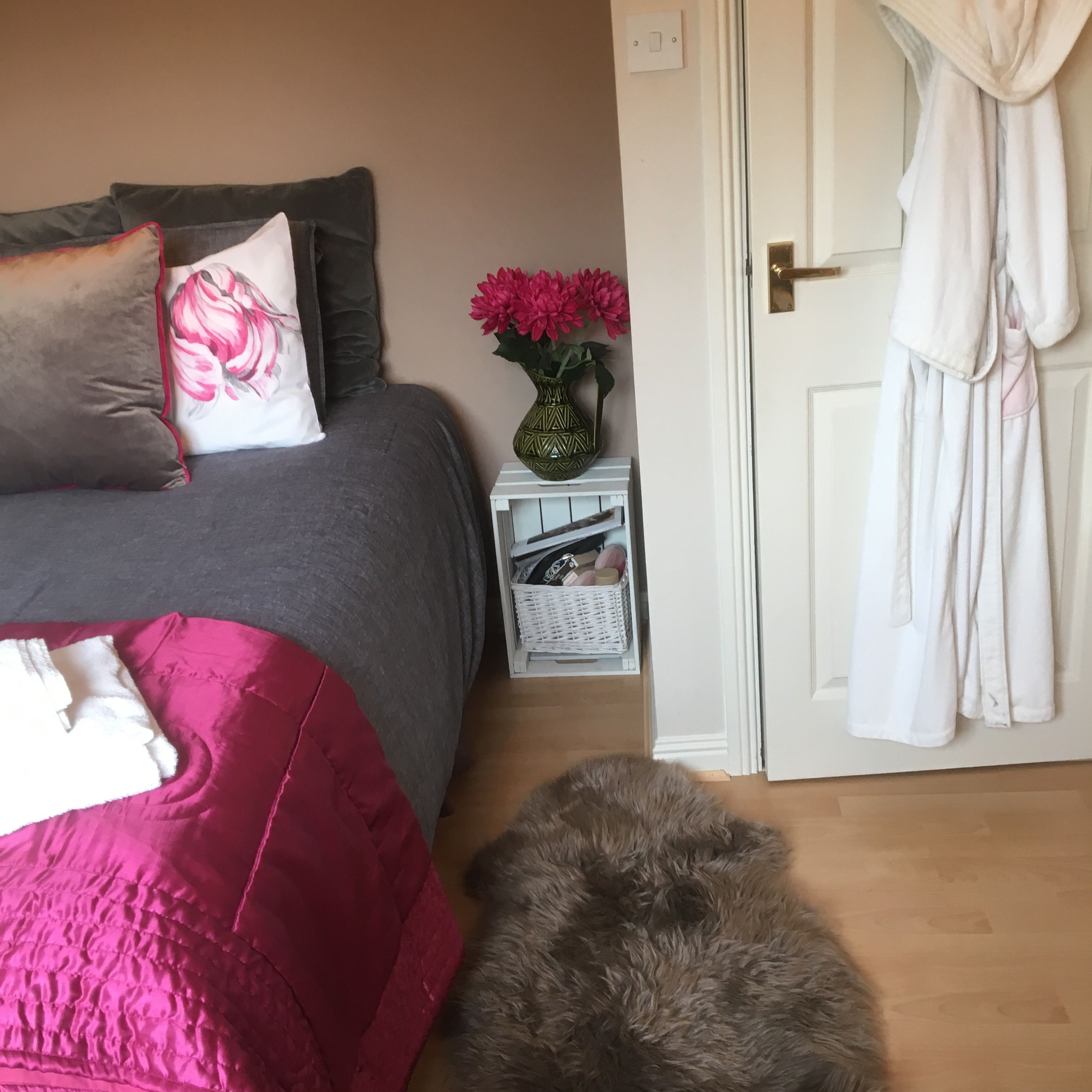 Guest Room Ready And Waiting For Visitors