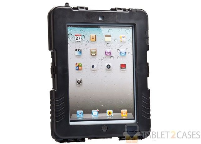 Andres Industries Ipad 2 Ipad 3 Military Grade Waterproof Impact Proof Case In Black For 425