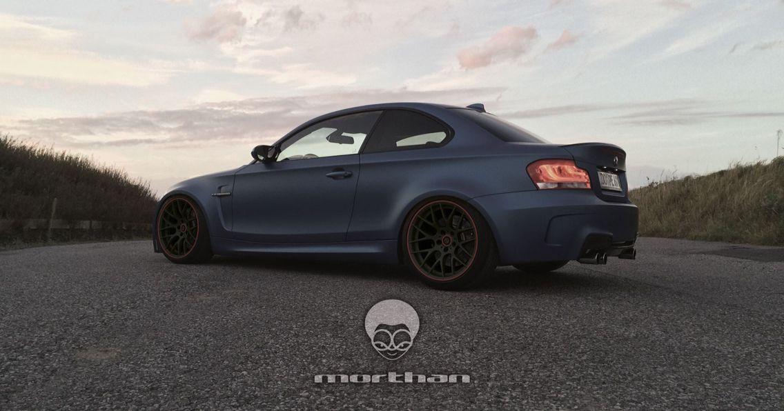 BMW 1er M Coupé - Flat blue