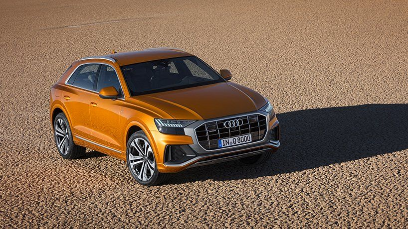 Audi Q8 Fuses The Elegance Of A Coupe With The Functionality Of An Suv Audi Audi Rs3 Car Exterior