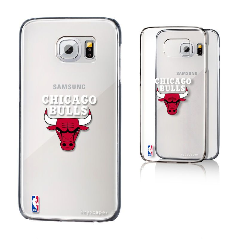 Chicago Bulls Galaxy S6 Clear Case  3eaae54cca2c0