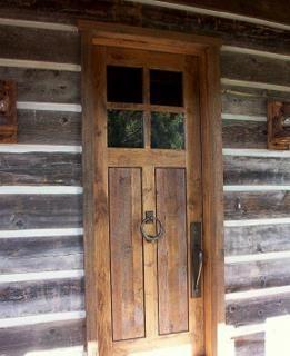 rustic front door with windows visit sustainablelumberco com