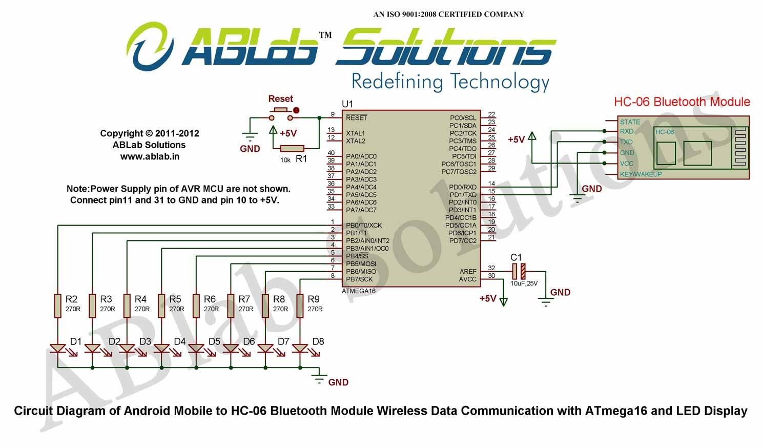 Learn Android Mobile To Hc 06 Bluetooth Module Wireless Data