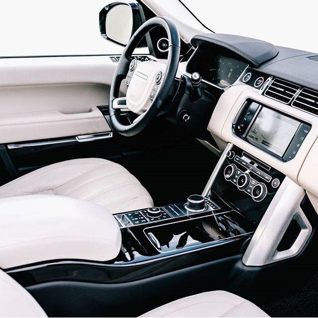 Range Rover Velar Black Rangerover Cars Car Black: Range Rover Interior In Black And White