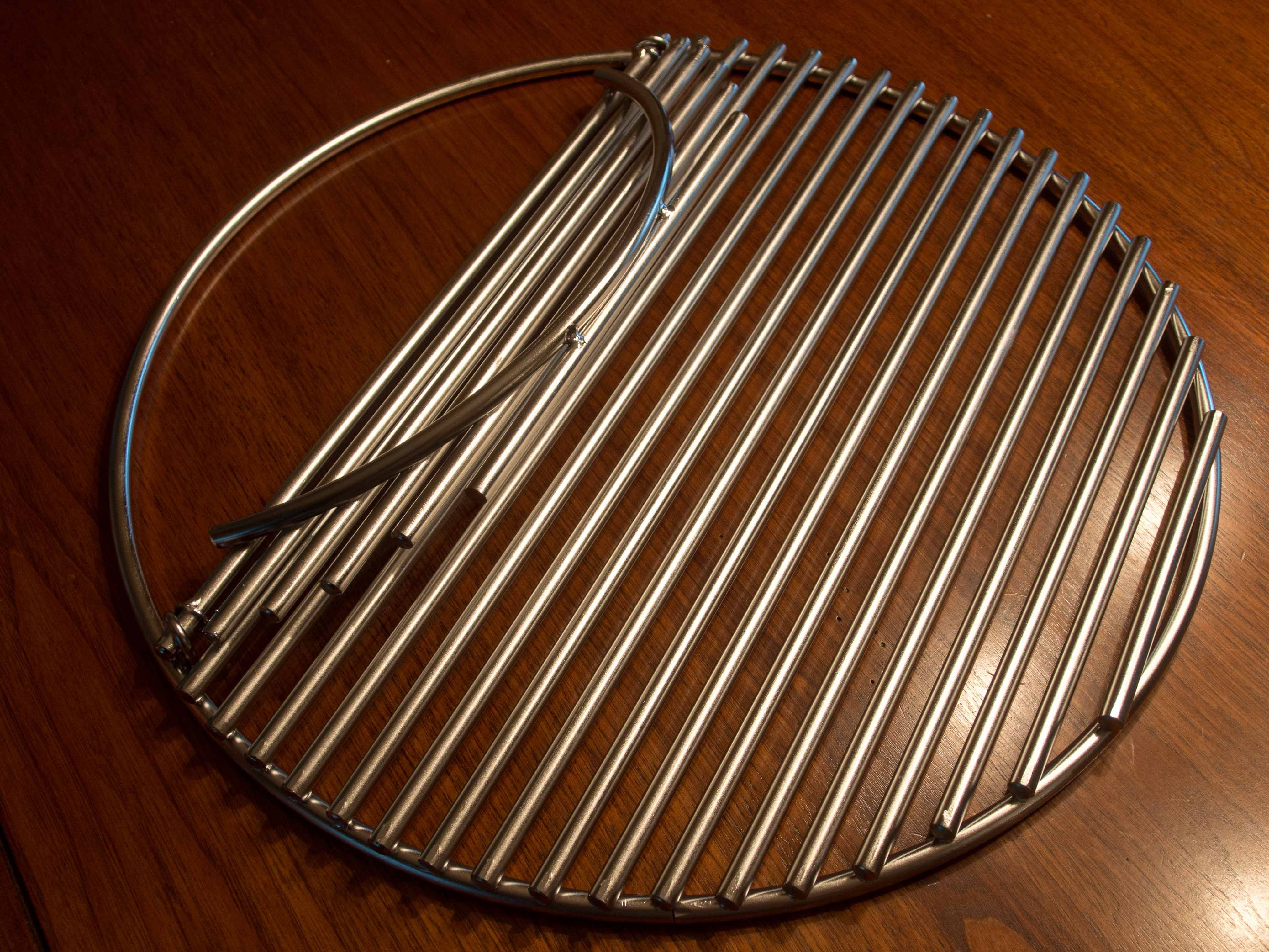 fire pit cooking grates heavy duty | The grate also features a hinged access door : door grates - Pezcame.Com